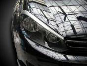 Вежди за фаровете за VW Golf 6  - черни