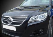 Вежди за фаровете за VW Tiguan  - черни