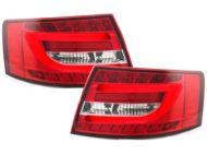 Kristalna LED štop svetla AUDI А6 4F (2004-2008) - Light-bar dizajn