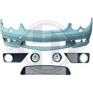 Предна тунинг броня за Mercedes CLK W209 (02-09)