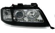 Кристални фарове  AUDI A6 (2001-2003) - черни