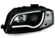 Kristalni farovi Light Bar Design AUDI А3 (2008-2012) - hrom