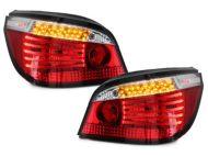 Диодни стопове BMW E60 (2003-2007) - диоден мигач хром