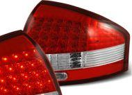 Диодни стопове за  AUDI A6 седан (1997-2004) - червени