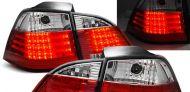 Диодни стопове BMW E61 комби  (2003-2007) - хром
