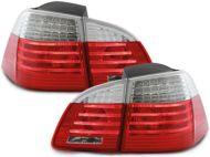 Kristalna LED štop svetla BMW E61 (03-07) - crvena / zatamnjena