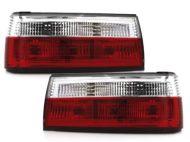 Kristalna štop svetla BMW E30  (83-91) - crvena / hrom