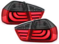 Kristalna LED štop svetla BMW E90 (05-08) - crvena / zatamnjena