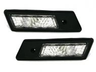 Кристални мигачи за БМВ Е36 / Е34 / Е32 (91-99) - черни