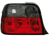 Kristalna štop svetla BMW E36 compact / karavan (91-99) - crvena / zatamnjena