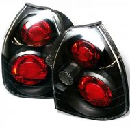 Кристални стопове HONDA CIVIC 3D (1996-2001) - Черни