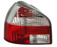 Kristalna štop svetla AUDI А3 (1996-2033) - crvena / hrom