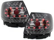 Kristalna LED štop svetla AUDI A4 (95-01) - crna