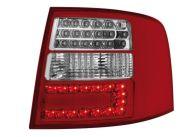 Диодни стопове  AUDI A6 комби  (97-04) - хром
