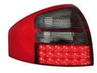 Диодни стопове  AUDI A6 седан  (97-04) - опушен хром