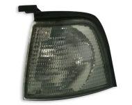 Кристални мигачи до фара AUDI 80  (86-91) - черен хром