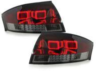 Kristalna LED štop svetla AUDI TT (98-05) - crvena / zatamnjena