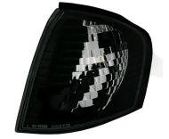 Кристални мигачи до фара черни за Мерцедес W202  (1994-2001)