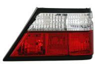 Kristalna štop svetla  Mercedes W124 (84-95) - crvena / hrom