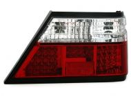 Kristalna LED štop svetla  Mercedes W124 (84-95) - crvena / hrom