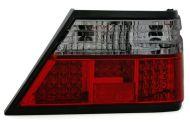 Kristalna LED štop svetla Mercedes W124 (84-95) - crvena / zatamnjena