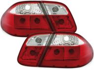 Kristalna štop svetla Mercedes CLK W208 (97-02) - crvena / hrom