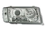 Kristalni farovi Mercedes W201 190E  (82-93) - hrom