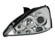 Kristalni farovi Angel Eyes FORD FOCUS (98-01) - hrom