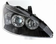 Kristalni farovi Angel Eyes FORD FOCUS (01-04) - crni