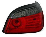 Kristalna LED štop svetla BMW E60 (03-07) - crvena / zatamnjena