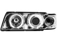 Kristalni farovi Angel Eyes BMW E38  (94-98) - hrom