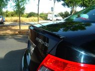 Lip spojler za gepek MERCEDES Benz C W204 (2008-2013)