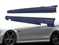 Тунинг прагове  Mercedes C-Class W204 (2007-2011) - AMG Design