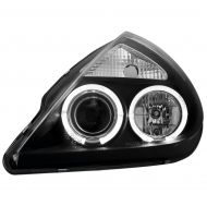 Kristalni farovi Angel Eyes FORD KA (96-08) - crni
