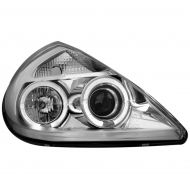 Kristalni farovi Angel Eyes FORD KA (96-08) - hrom