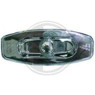 Кристални мигачи за калник  HYUNDAI SANTA FE (2001-2004) - хром