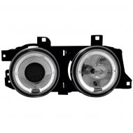 Kristalni farovi Angel Eyes BMW E32 / E34  (89-95) - hrom