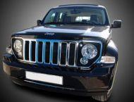 Вежди за фаровете за Jeep Cherokee  - черни