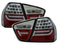 Kristalna LED štop svetla BMW E90 (2003-2007) - crveno bela
