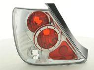 Kristalna štop svetla HONDA CIVIC 3D (01-06) - hrom / bela