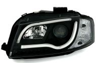 Kristalni farovi Light Bar Design AUDI А3 (2008-2012) - crni