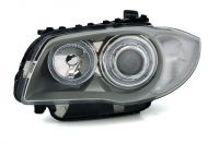 Kristalni farovi Angel Eyes BMW E87 (2004-2007) - hrom