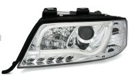 Kristalni farovi Light Bar Design A6 c5 (1997-2004) - hrom