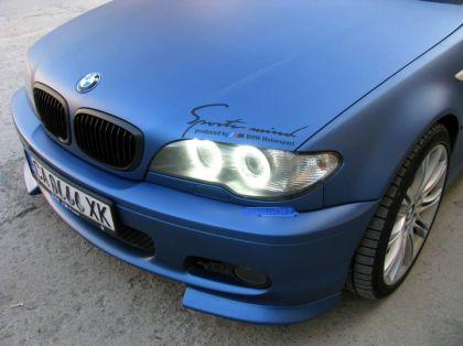 Led Angel Eyes Bmw E46 Coupe Restyling 2003 Sa 66 Dioda Beli