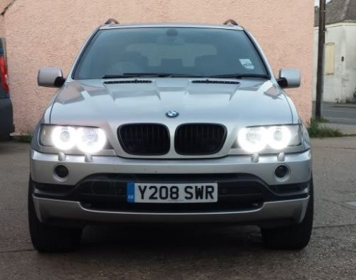 Bmw x5 angel eyes led-9072